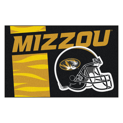 University of Missouri Custom Logo Starter Rug