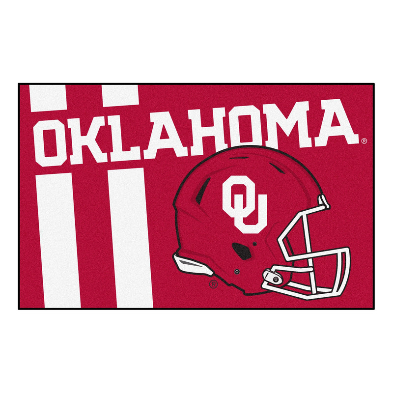 University of Oklahoma Custom Logo Starter Rug