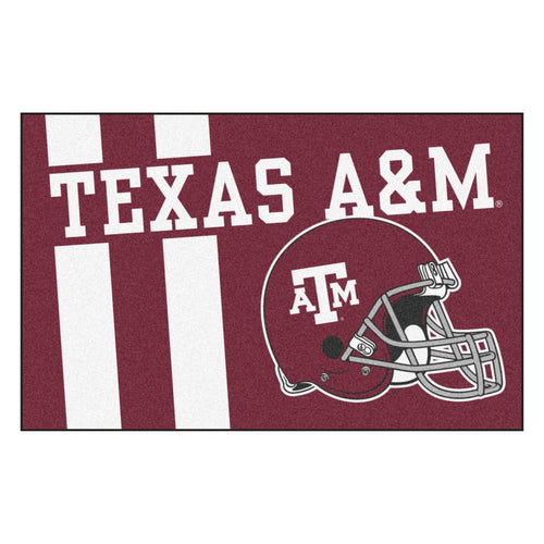 Texas A&M Custom Logo Starter Rug