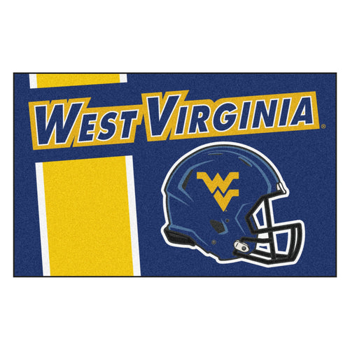 West Virginia University Custom Logo Starter Rug