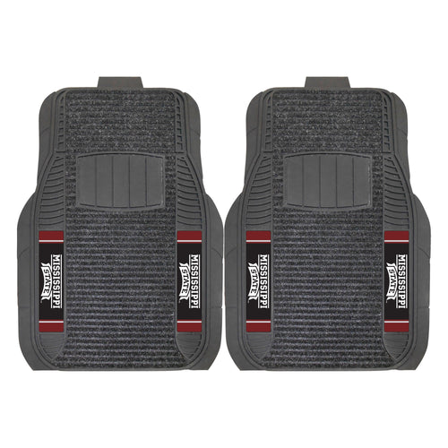 Mississippi State University Deluxe Car Floor Mat (Set of 2)