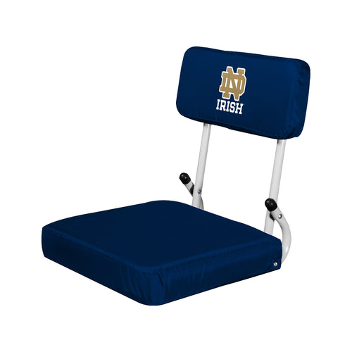 University of Notre Dame Hard Back Stadium Chair