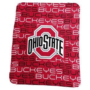 Ohio State University Classic Fleece Lightweight Blanket