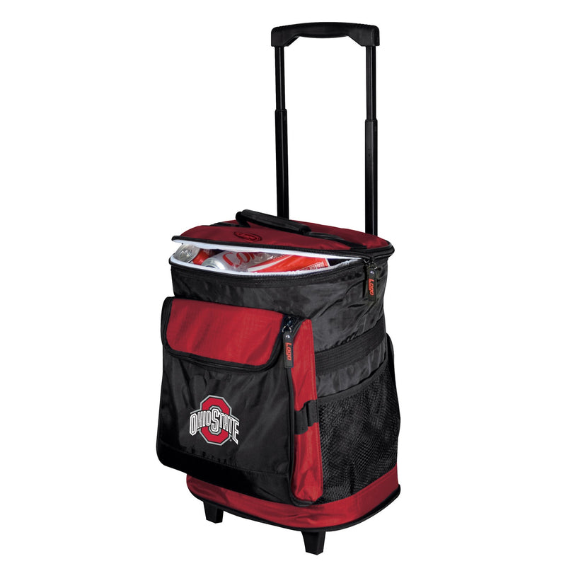 Ohio State University Buckeyes Rolling Cooler
