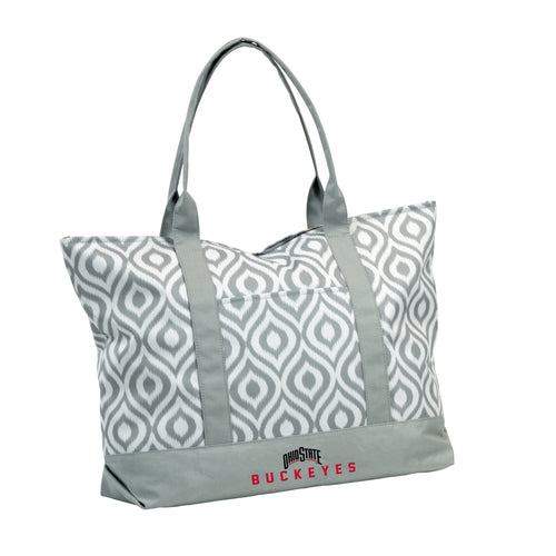 Ohio State University Ikat Tote