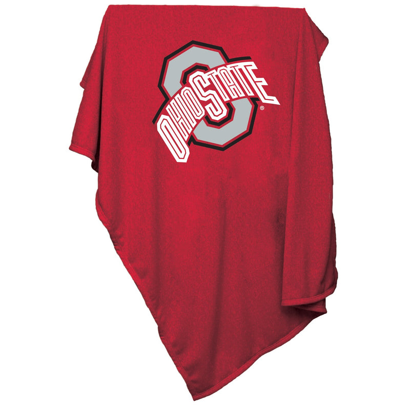 Ohio State University Sweatshirt Blanket