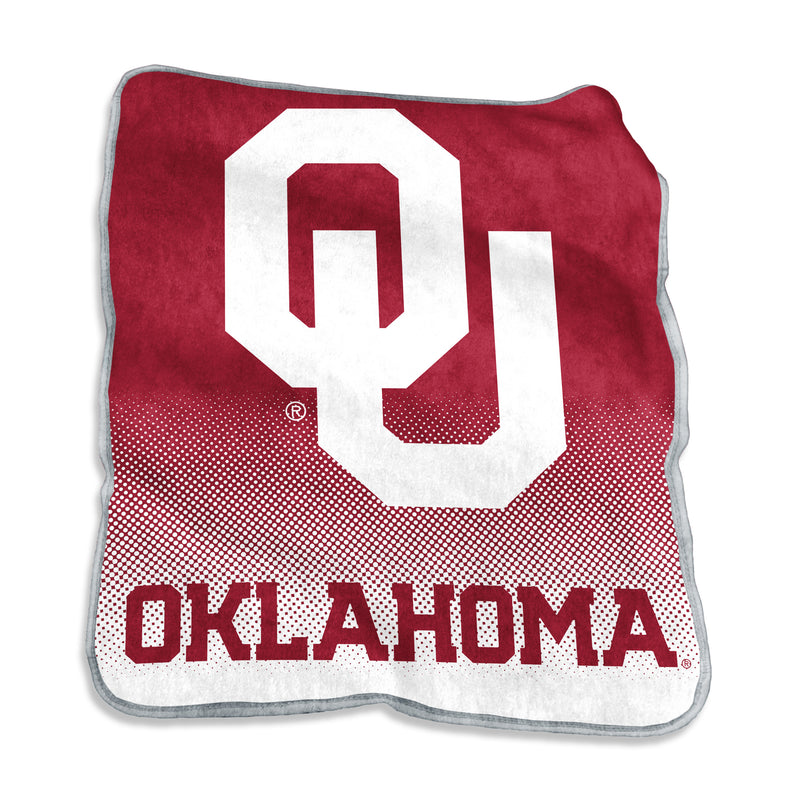 University of Oklahoma Raschel Blanket