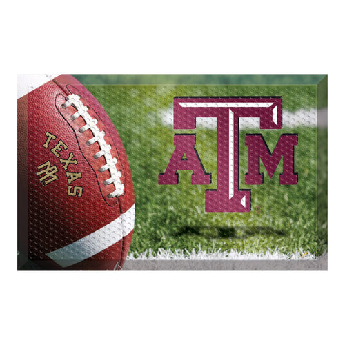 Texas A&M Football Scraper Door Mat