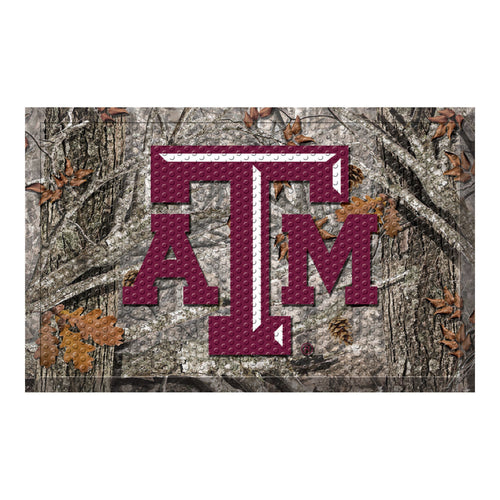 Texas A&M Camo Scraper Door Mat