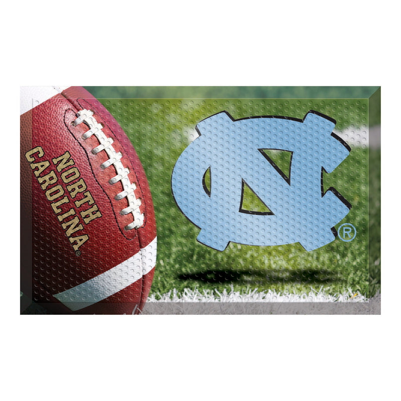 University of North Carolina Football Scraper Door Mat