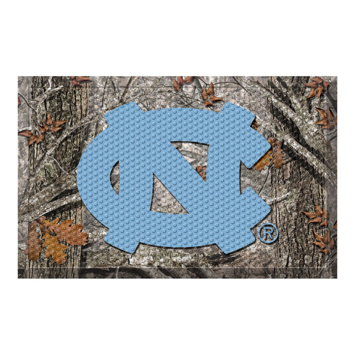 University of North Carolina Camo Scraper Door Mat