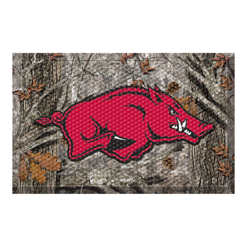 University of Arkansas Camo Scraper Door Mat