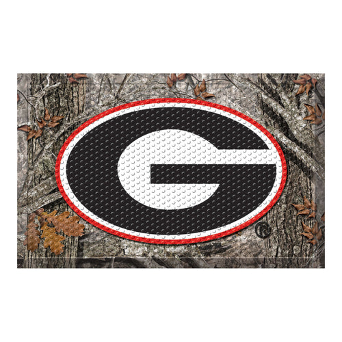 University of Georgia Camo Scraper Door Mat