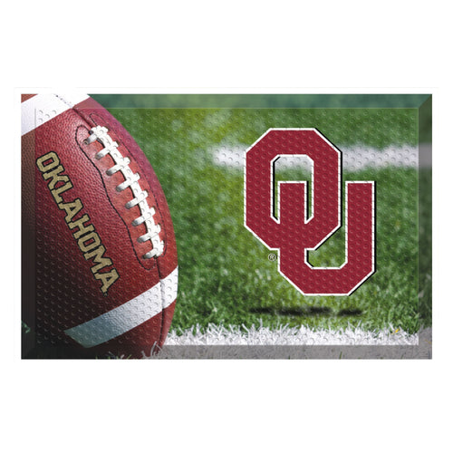 University of Oklahoma Football Scraper Door Mat