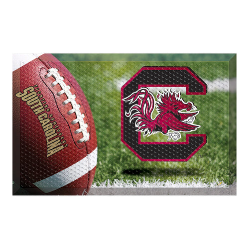 University of South Carolina Football Scraper Door Mat