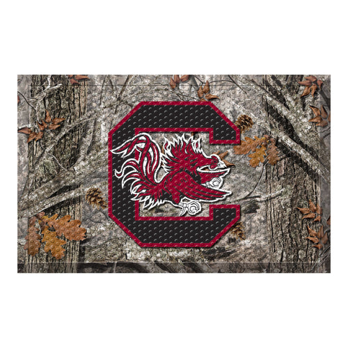 University of South Carolina Camo Scraper Door Mat
