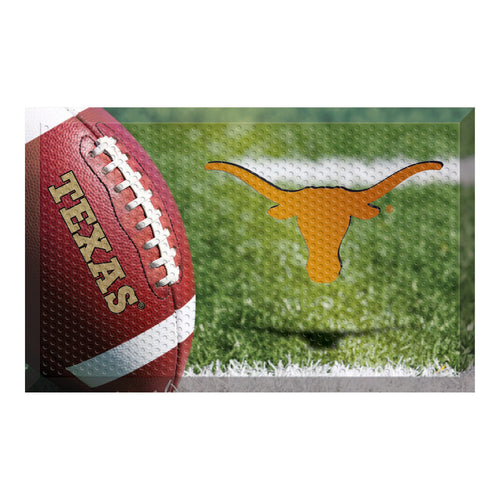 University of Texas Football Scraper Door Mat