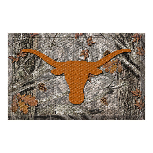University of Texas Camo Scraper Door Mat