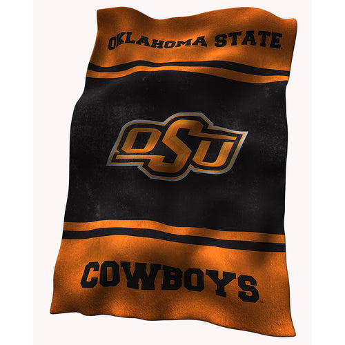 Oklahoma State University Ultra Soft Blanket