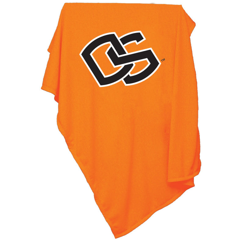 Oregon State University Sweatshirt Blanket