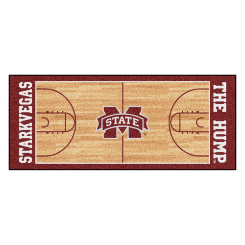 Mississippi State University Basketball Court Runner