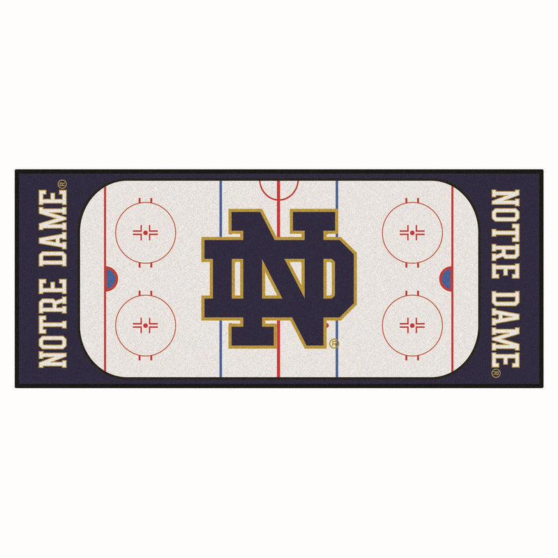 University of Notre Dame Hockey Rink Runner