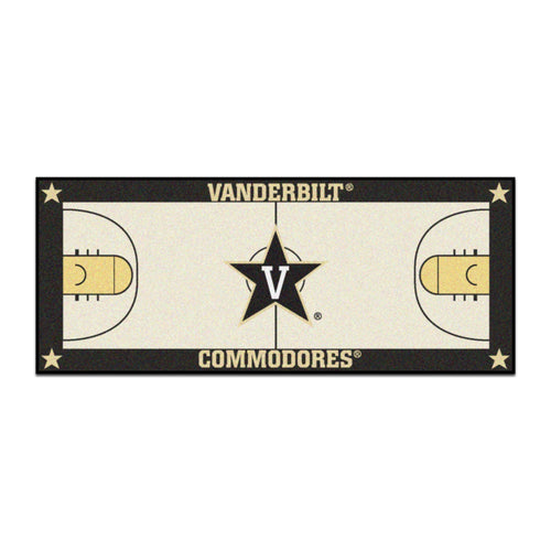 Vanderbilt University Basketball Court Runner