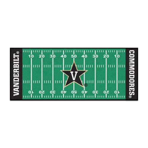 Vanerbilt University Football Field Runner