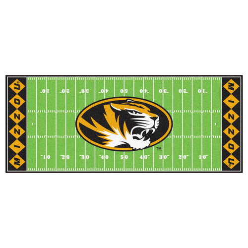 University of Missouri Football Field Runner