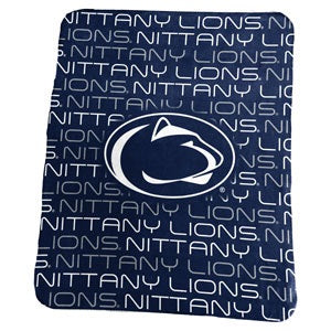 Penn State University Classic Fleece Lightweight Blanket
