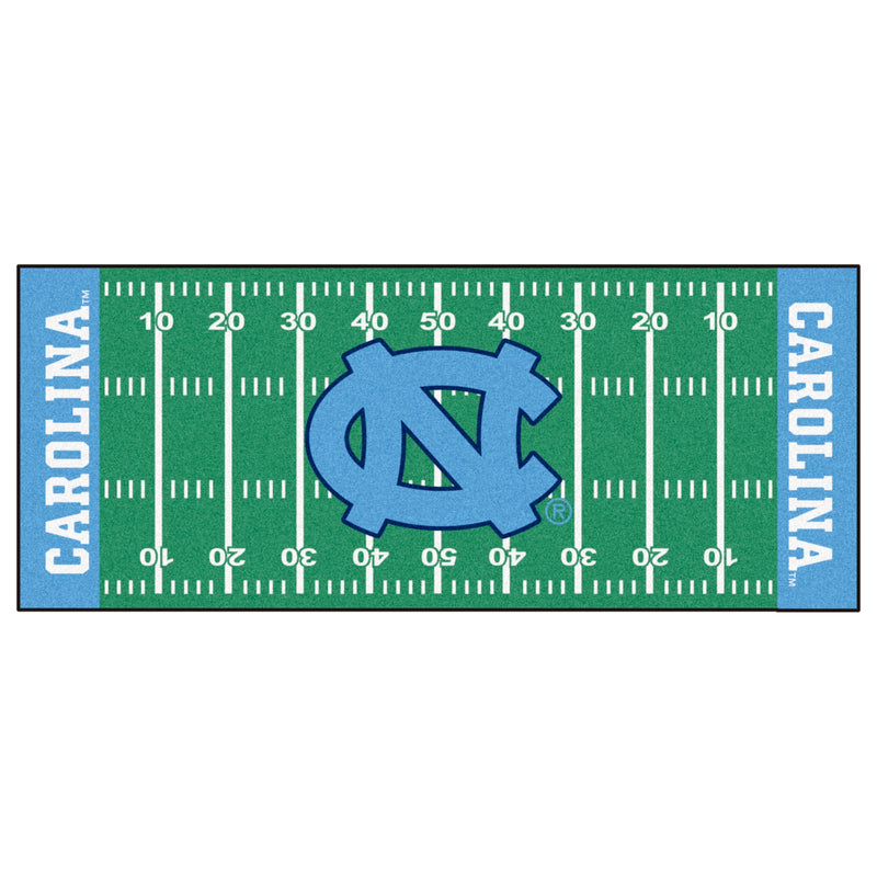 University of North Carolina Football Field Runner