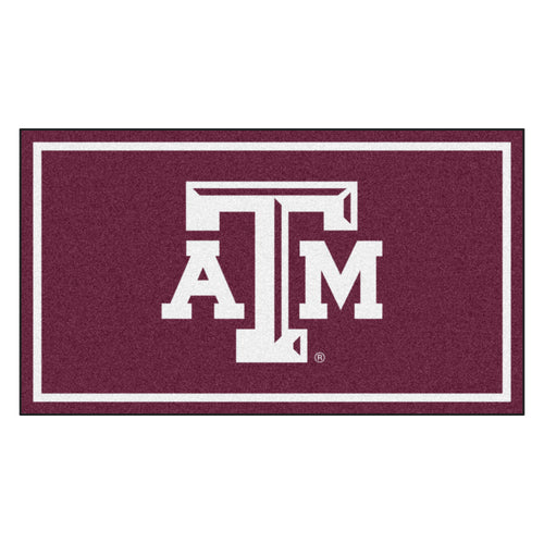 Texas A&M University 3' x 5' Ultra Plush Area Rug