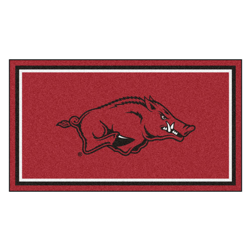 University of Arkansas 3' x 5' Ultra Plush Area Rug