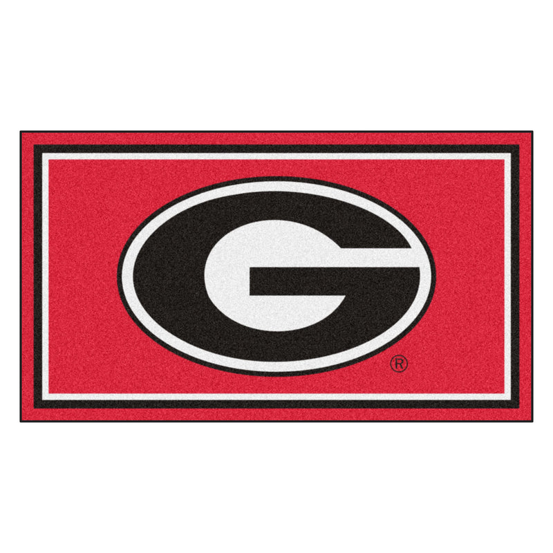 University of Georgia 3' x 5' Ultra Plush Area Rug