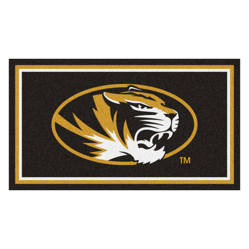 University of Missouri 3' x 5' Ultra Plush Area Rug