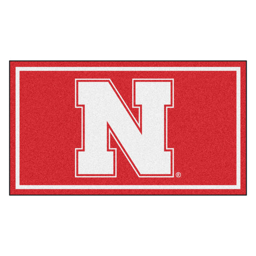 University of Nebraska 3' x 5' Ultra Plush Area Rug