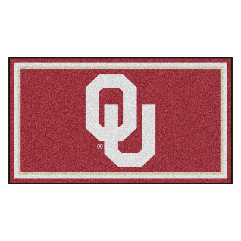 University of Oklahoma 3' x 5' Ultra Plush Area Rug
