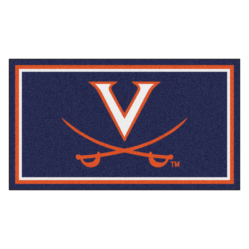 University of Virginia 3' x 5' Ultra Plush Area Rug