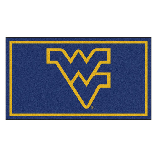 West Virginia University 3' x 5' Ultra Plush Area Rug