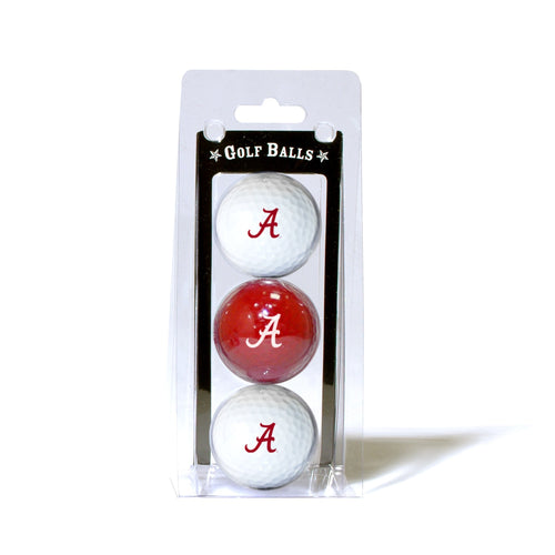 University of Alabama 3-Pack Golf Balls