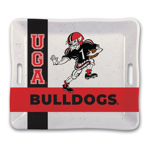 University of Georgia Heavy Weight Melamine Tray