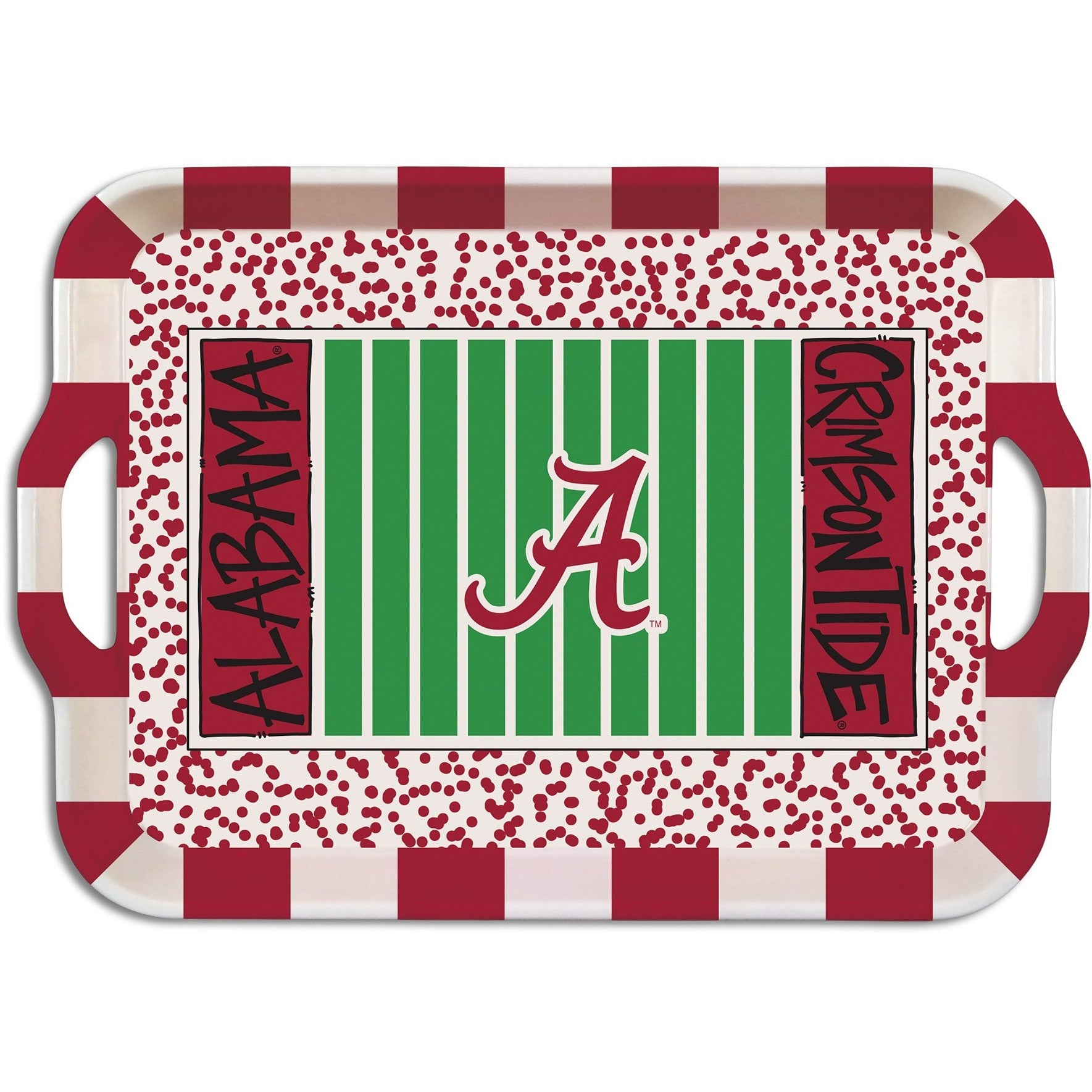 University Of Alabama Melamine Tray Zokee