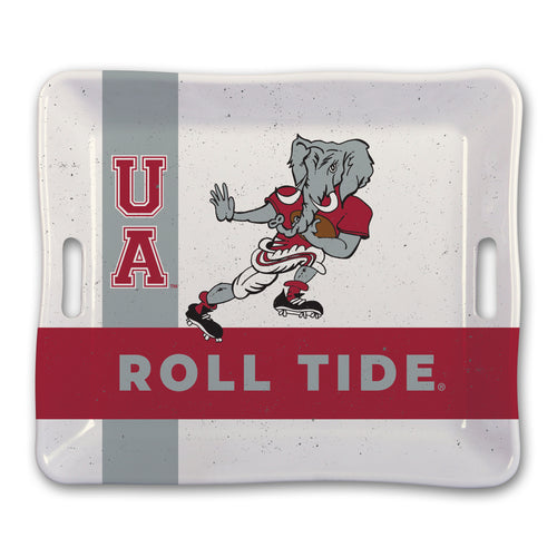 University of Alabama Heavy Weight Melamine Tray