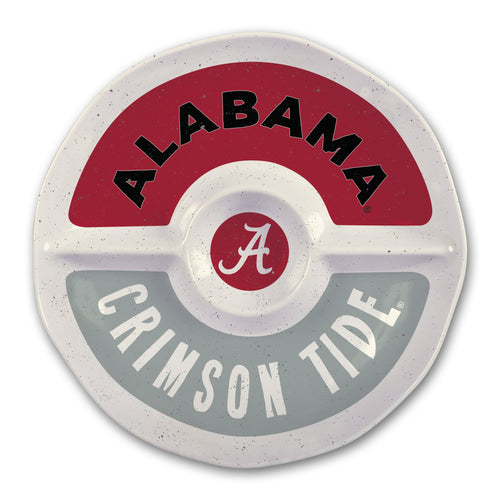 University of Alabama Heavy Weight Melamine Divided Tray