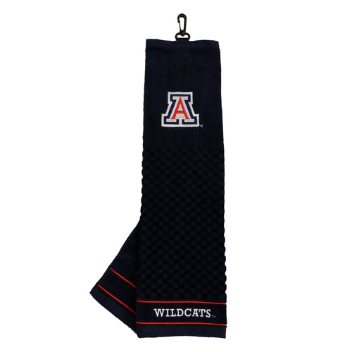 University of Arizona Embroidered Golf Towel