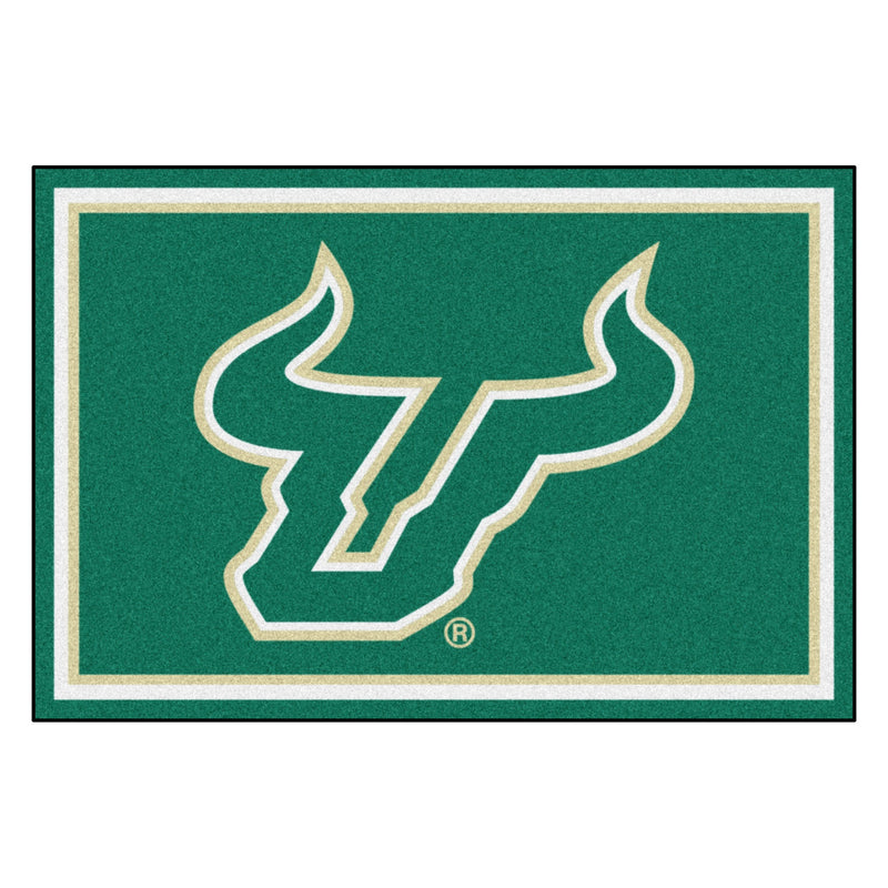 University of South Florida Mascot Area Rug