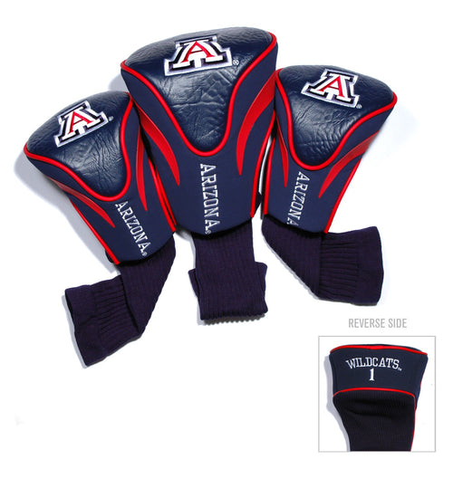 University of Arizona Contour Sock Headcovers (3 pack)
