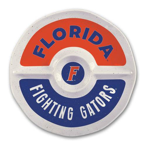 University of Florida Heavy Weight Melamine Divided Tray