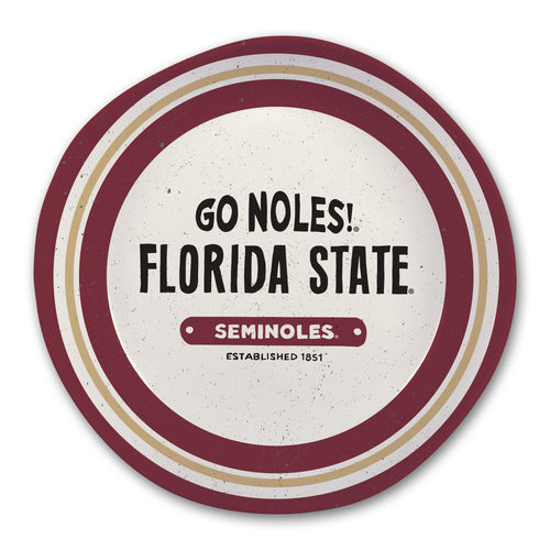 Florida State University Heavy Weight Melamine Bowl