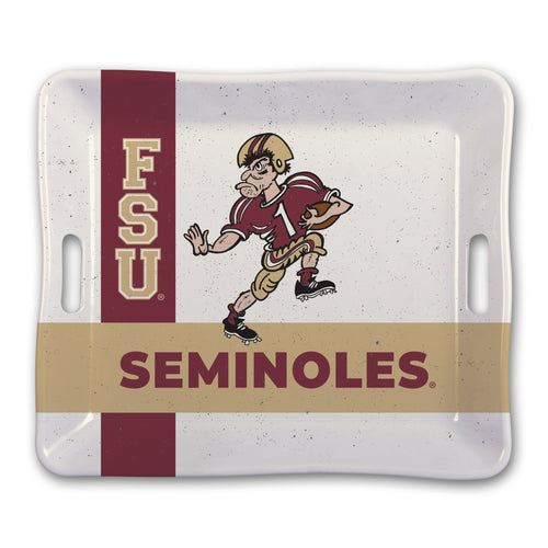 Florida State University Heavy Weight Melamine Tray